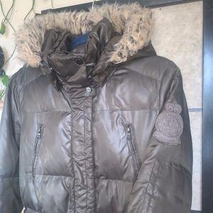 Lauren Ralph Lauren Army Green Down Coat